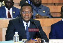 Sanogo Moussa devant les députés de la commission des affaires financières