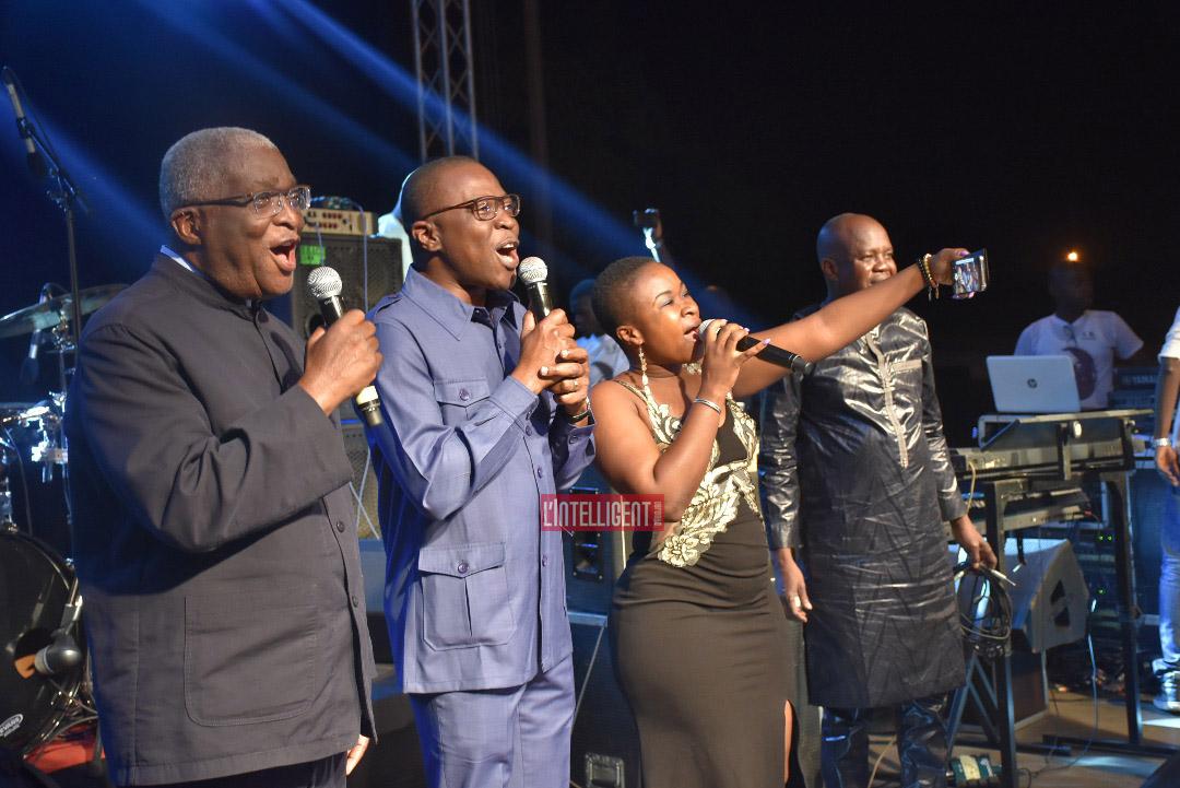 Djibo Nicolas et Amadou Koné célèbrent en chœur le passage à l'an 2019