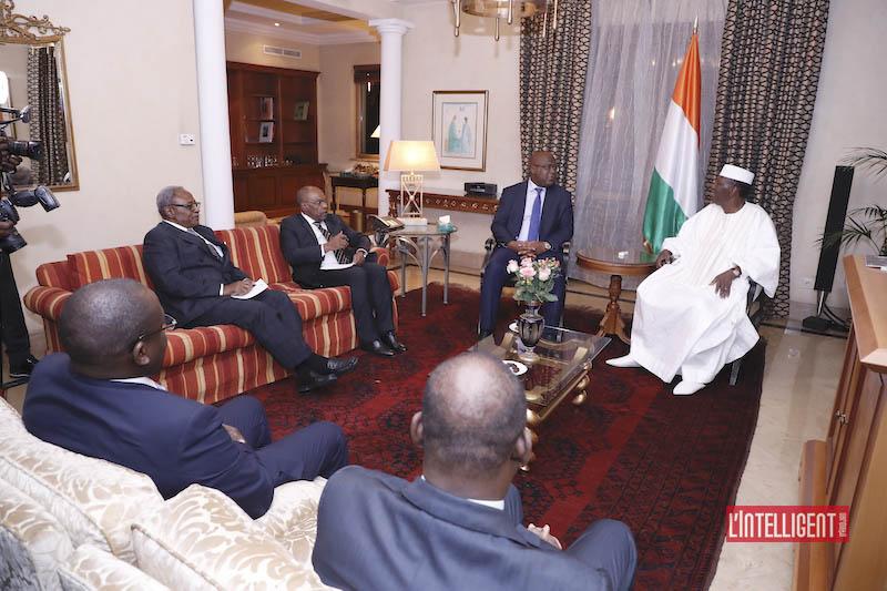 Tshisekedi - Ouattara à Addis Abeba 3