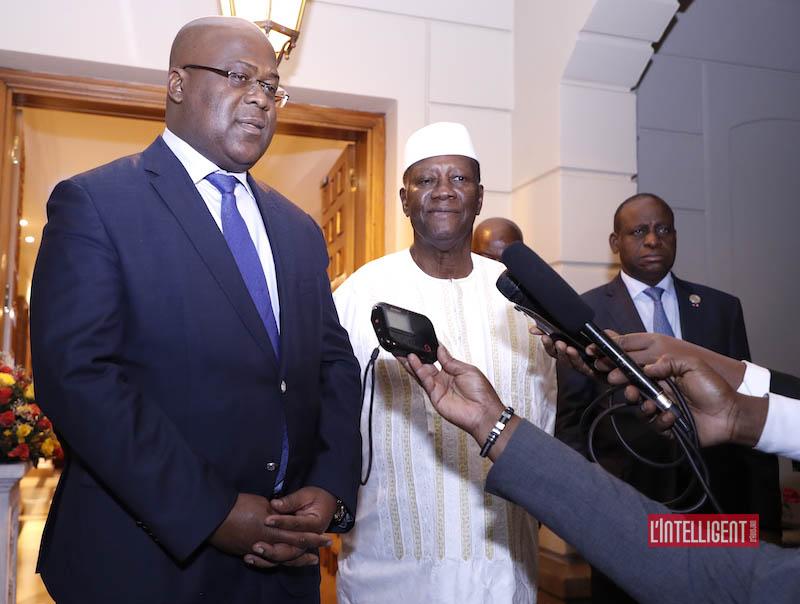 Tshisekedi - Ouattara à Addis Abeba 4