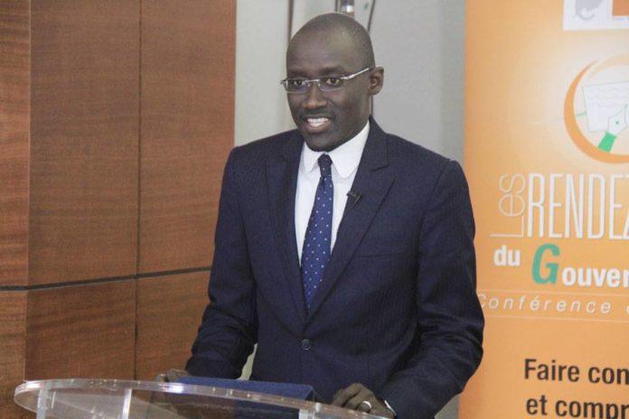 Abdourahmane Cissé   Ministre du pétrole et de l'énergie