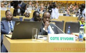 Le ministre Aly Coulibaly à l'ouverture de la 36e session du conseil Exécutif de l'UA à Addis Abeba