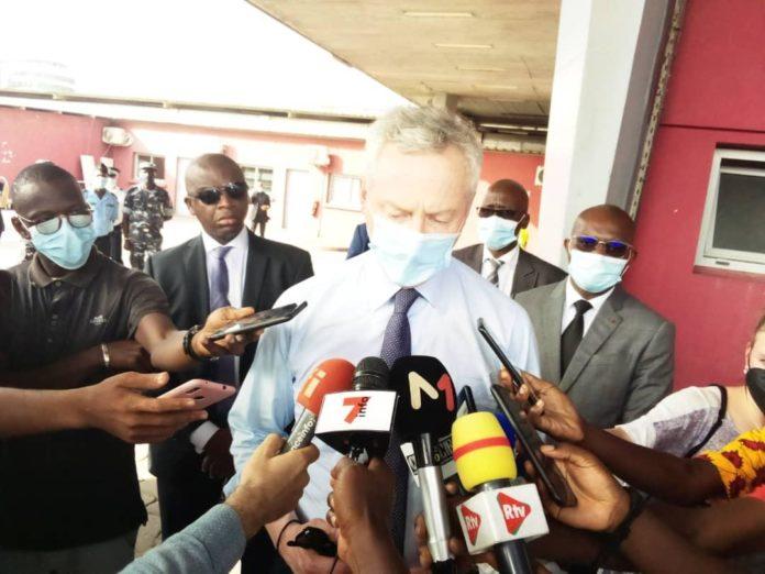 """Ligne 1 du Métro d'Abidjan - Bruno Lemaire fait le point de l'avancement des travaux : """"Voici les difficultés (...) mais nous avons une occasion d'accélérer le projet en 2021"""""""