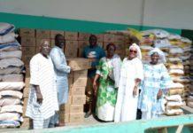 Gbêkê - Ramadan 2021 : Le Ministre Sidi Touré offre 30 tonnes de vivres aux musulmans
