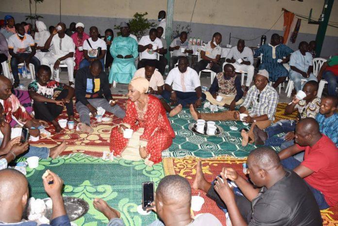 Rupture collective de jeûne à Koumassi L'honorable Adjaratou Traoré invite les fidèles musulmans à prier davantage pour la Côte d'Ivoire