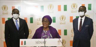 Sénat- Sarra Sako Fadika, vice-présidente du Sénat : « Pourquoi une formation des sénateurs à la pratique de l'évaluation des politiques publiques »