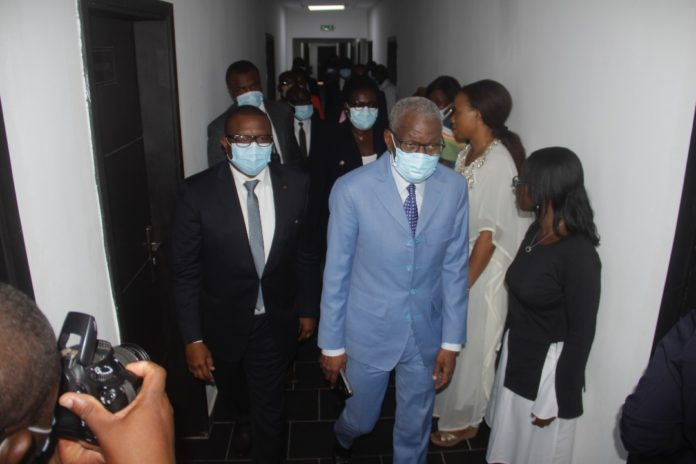 «Votre présence à la tête de l'Anp est une chance », a dit à l'attention du Président de l'organe de régulation , Samba Koné, Amadou Coulibaly