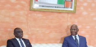 «Bienvenue en Galilée , patrie du ressuscité» a dit le président du conseil constitutionnel Mamadou Koné