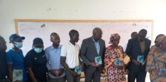 « Il faut garder espoir, quelles que soient les difficultés », a dit Habib Sanogo, directeur général de l'Institut national de la jeunesse et des sports (Injs)