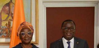 La directrice de la communication du ministère de la Promotion des Sports et du Développement de l'Économie Sportive