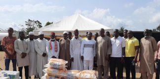 Le dimanche 02 mai 2021, Yapi Djoman Constant, président des cadres d'Anyama et de Broffodoumé a fait don de vivre