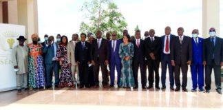 """Dans le cadre de son programme de rencontres citoyennes dénommées """" le Sénat à la rencontre de..."""" afin de mieux rapprocher l'institution des populations ivoiriennes"""