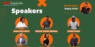 Les organisateurs de la première édition du programme TEDx Treichville prévue le 15 mai 2021 au palais de la culture de la commune