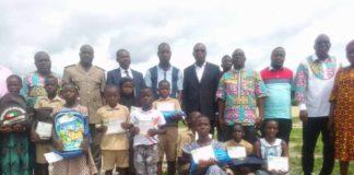 Coulibaly Tidiane, inspecteur de l'IEPP2, a organisé la 3è édition de la journée d'excellence le samedi 26 juin 2021, au terrain de sport du lycée Jacques Aka d'Agboville