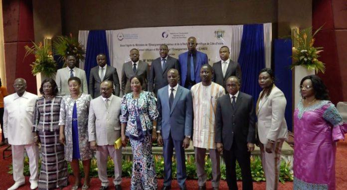 Les 37e et 38e sessions jumelées du Conseil des ministres du CAMES - Conseil Africain et Malgache pour l'Enseignement Supérieur- ont été ouvertes le jeudi 3 juin 2021