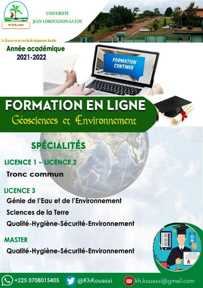 L'Université Jean Lorougnon Guédé de Daloa, Sud-ouest de la Côte d'Ivoire, ouvre pour la prochaine année universitaire 2021-2022