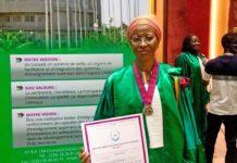 Le Prof. Bakayoko Ly-Ramata, ancienne ministre de l'enseignement supérieur de Côte d'Ivoire et ex présidente de l'université Félix Houphouët-Boigny d'Abidjan