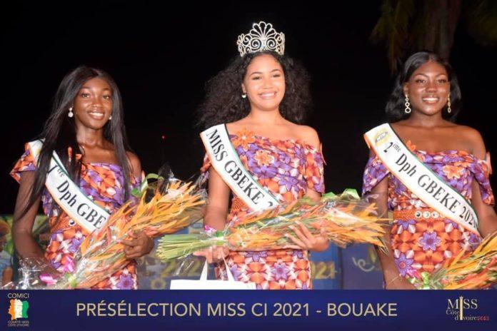 La 5è étape des présélections Miss-Côte d'Ivoire a lieu le samedi 29 mai 2021 dans un hôtel de Bouaké