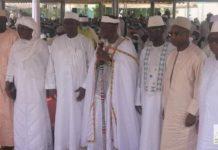 L'installation officielle du Guide suprême des musulmans de Côte d'Ivoire, Cheickoul Aïma Ousmane Diakité, le samedi 12 juin 2021 à la grande mosquée de la Riviéra-Golf