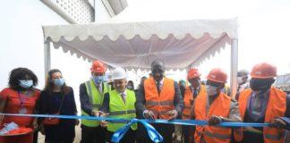 Le ministre Souleymane Diarrassouba inaugure une usine de conditionnement du gaz butane à Akoupé-Zeudji