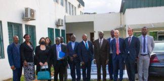 Accompagné d'une délégation de l'Agence Française de Développement (AFD) venue de France, et conduite par son Directeur de l'Innovation et de la Recherche, Thomas MELONIO